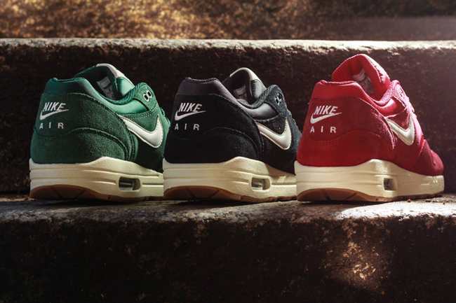 nike air max rood suede