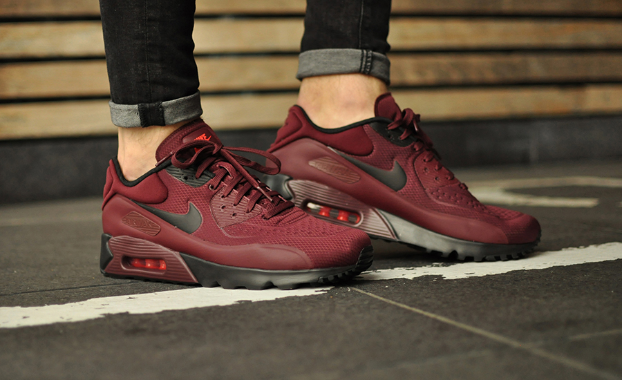 nike air max 2016 bordeax rood