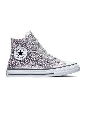 Converse All Stars Chuck Taylor 669249C Zilver / Roze