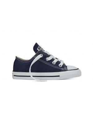 Converse All Stars Laag Kids 7J237 Navy Blauw-18