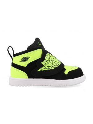 Nike Sky Jordan 1 BQ7196-007 Zwart / Geel