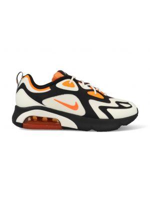Nike Air Max 200 CI3865-004 Wit / Zwart / Oranje