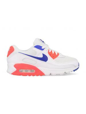Nike Air Max 90 CT1039-100 Wit / Oranje / Blauw