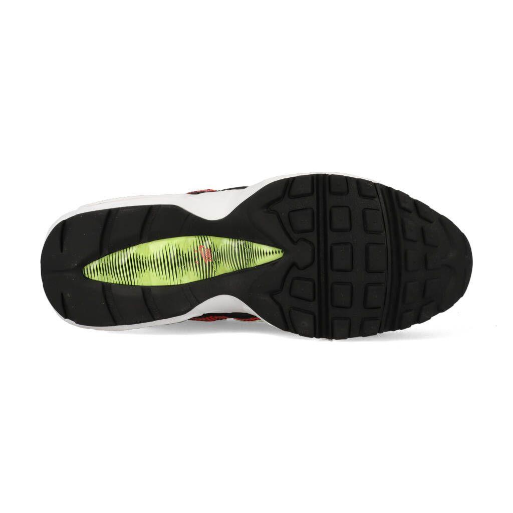 Nike Air Max 95 AJ2018 004 Zwart Rood Geel