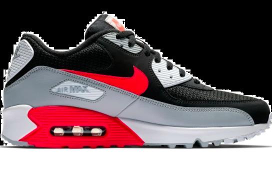 Nike Air Max '90 WitGrijsRoodZwart 333806 101
